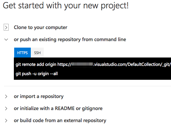 How to add initial code from Xamarin Studio to git at