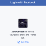 How to get facebook friendlist in Xamarin Forms iOS using native facebook login