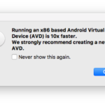How to create an x86 based Android Virtual Device with Xamarin or Visual Studio on Mac