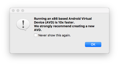 How to create an x86 based Android Virtual Device with Xamarin or