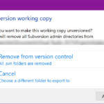 Migrate Visual Studio Solution from Subversion to Git